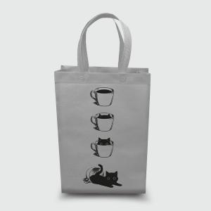 Эко сумка vertikal 320*400*100 Кофе Кот
