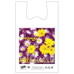 """Пакет типа """"майка"""" 30х52 Floral"""