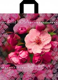 Пакет с петлевой ручкой 40х42 BELLA ROSA