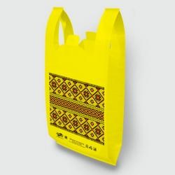 """Пакет типа """"майка"""" 30х55 Рушник желтый Люкс"""