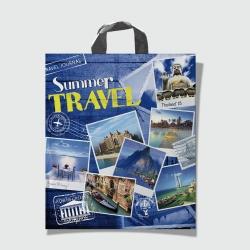 Пакет с петлевой ручкой 40х42 Travel