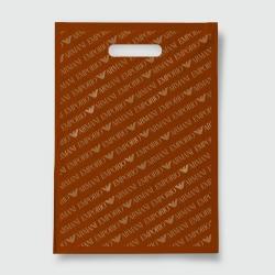 Пакет с прорезной ручкой 40*55 Армани