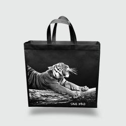 Эко сумка XXL 420*350*120 Тигр