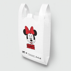 "Пакет типа ""майка"" 30х52 Minnie Mouse"