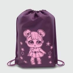 Эко сумка BOX рюкзак  330х415х80 LOL