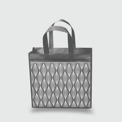 Эко сумка mini 320х270х100 Волна