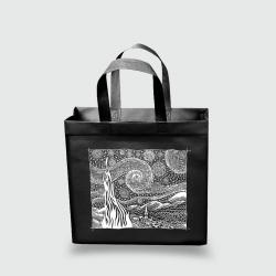Эко сумка mini 320х270х100 Ван Гог