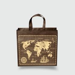Эко сумка standart 385х320х120 Карта