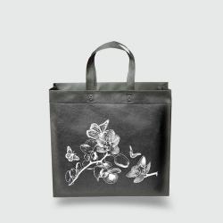 Эко сумка standart 385х320х120 Орхидея