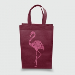 Эко сумка vertikal 320*400*100 Фламинго